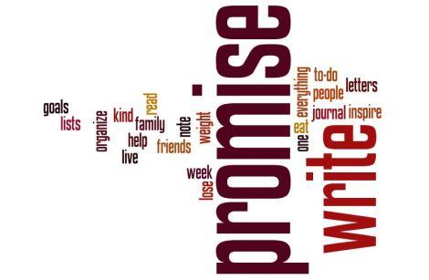 Writing Promise Wordle